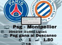 Psg - Montpellier