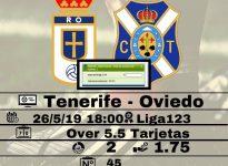 Tenerife - Oviedo