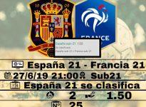 Espa?a 21 - Francia 21