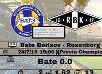 Bate Borisov- Rosenborg