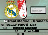 Real Madrid- Granada