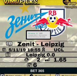 Zenit – Leipzig