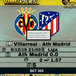 Villarreal – Atletico de Madrid