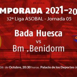 Liga Asobal: Huesca vs Benidorm