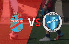 Liga Profesional: Arsenal Sarandí vs Godoy Cruz